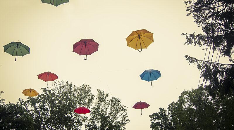 Парк Южно-Сахалинск: фото 2020 года, музыкальный фонтан и зонтики!