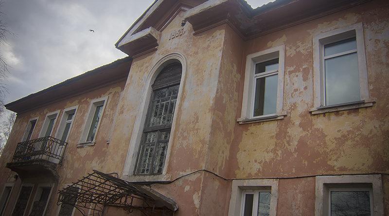 1955 год, дома сталинской постройки..