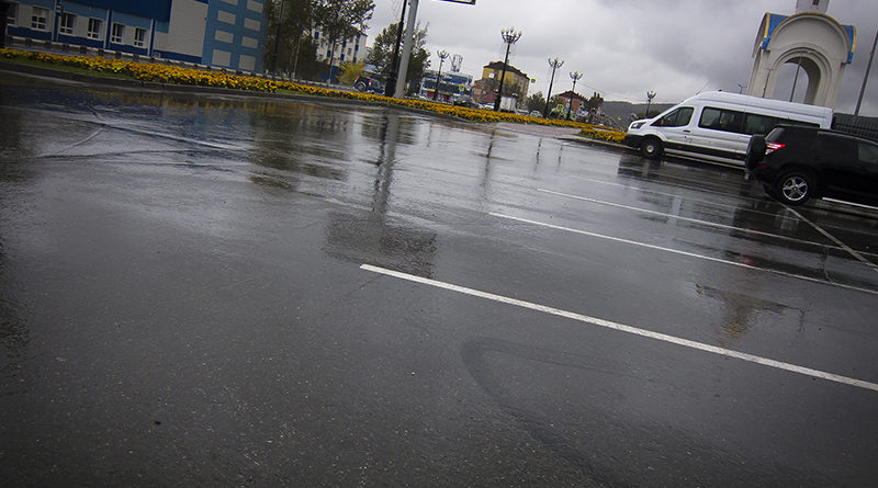 Часы пик в Южно-Сахалинске (такси, свой транспорт, маршрутки и просто пешком)